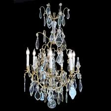 Bacarat Chandelier 19th Century Louis Xv Style Baccarat Crystal Chandelier