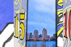 San Diego Chargers Flag Advent Calendar Dec 15 The First Football Team In San Diego
