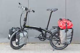 best folding bike 2012 tern verge s27h folding touring bicycle a review cyclepeter