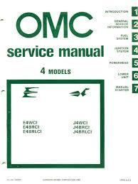 1981 johnson evinrude 4hp outboards service manual pdf