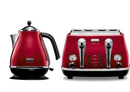White Kettles And Toasters Kitchen Kettle And Toaster Set 10383