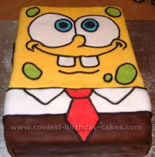 spongebob cake ideas coolest sponge bob cake photos and how to tips