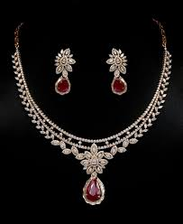 ruby diamonds necklace images 207 best rubies sets images necklaces dress and jpg