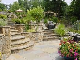 landscaping ideas backyard hillside pdf landscape for steep hill