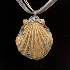 shell necklace making images Seashell pendants jewelry making journal jpg