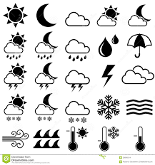 Weather Map Symbols Weather Stock Illustrations U2013 142 886 Weather Stock Illustrations