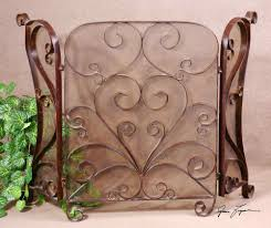 hand forged fireplace screen home decor ryanmathates us