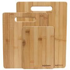 cool cutting boards natural bamboo 3 piece cutting board set r1 llc r1 llc