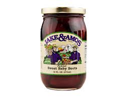 jake amos pickled foods amish style pickled vegetables canned pickled sweet baby beets 16oz