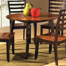 Drop Leaf Pedestal Dining Table Steve Silver Company Abaco Double Drop Leaf Round Casual Dining