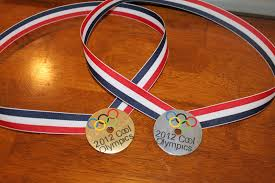 olympics party idea diy olympic medals keeping it simple crafts