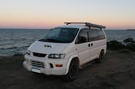 mitsubishi delica space gear the vault comfortably lost