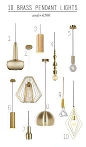 brass pendant lights lights decoration