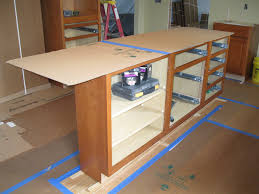 diy kitchen island base cabinets 10 modest kitchen area