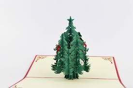 aliexpress buy snow tree cards 3d trees