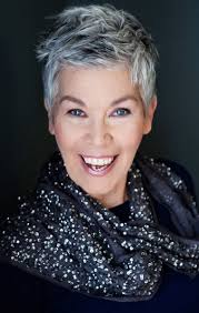 shorter hair styles for under 40 stylish grey haired women over 40 my new cut pinterest gray