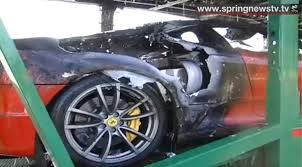 land rover thailand lamborghini ferrari and other luxury cars go up in flames on thai