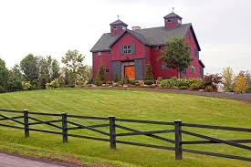 Rustic Barn Homes The Somerset Post And Beam Barn Home Rustic Exterior