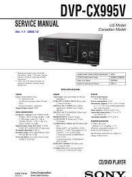 service manual compact disc cd rom