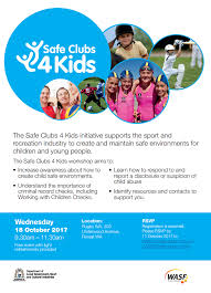 safe clubs 4 kids events