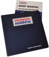 amazon com honda bf25 bf30 marine outboard service repair shop
