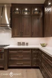 brown stained kitchen cabinets interior design ideas home bunch an interior design