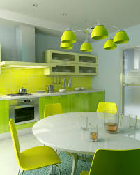 kitchen with a bright orange wall with a modern kitchen design bright lime kitchen design 2013