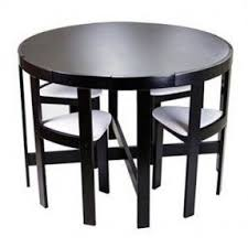 Black And White Dining Room Sets Small Dinette Sets Foter