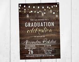 graduation invite graduation invitation etsy