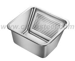 stainless steel laundry sink stainless steel laundry sink with washboard design inside buy