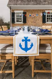 nautical themed table runners home table decoration