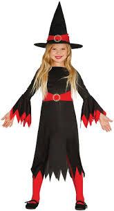 girls little red witch fancy dress costume fancy me limited