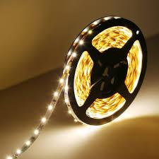 Indirekte Beleuchtung Wohnzimmer Dimmbar 12v Led Lichtleiste 300 3528 Smd Leds Warmweiß 5m Le