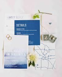 Abbreviation Of Rsvp In Invitation Card 74 Modern Wedding Invitations Martha Stewart Weddings