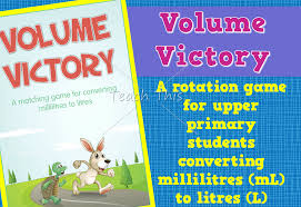 volume victory u2013 ml to l game fun printable classroom games and