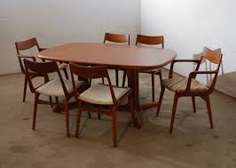 dining room sets 6 chairs danish dining table u0026 6 chairs gudme mobelfabrik