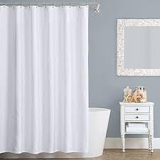 Narrow Shower Curtains For Stalls Lamont Home Seaspray Cotton Shower Curtain Bed Bath U0026 Beyond