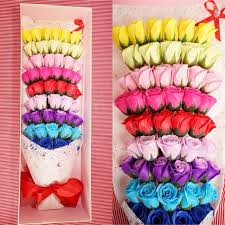 rainbow flower flowers rose roses fresh sweet vintage cover ribbon