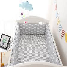 ins cloud printed baby bedding set children crib bedding set