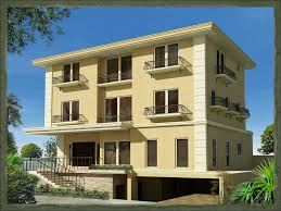 3 storey house storey house designs philippines building plans