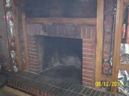 soda blasting a brick fireplace u2013 green clean mobile soda blasting