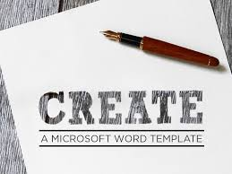 how to create microsoft word templates in dynamics 365
