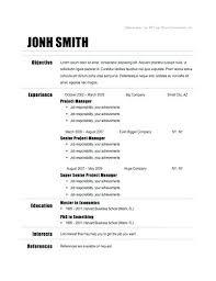 free easy resume templates easy resume template easy resume template best ideas about