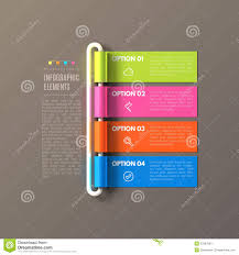 banner steps business infographic template stock vector image