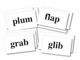 words cards phonics in a box word cards