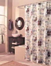Dark Purple Shower Curtain Traditional Floral Shower Curtains Ebay