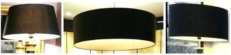 drum l shades walmart black l shades silk french drum with gold trim 4 colors black