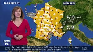 siege de bfm tv la meteo de larue le 2017 02 12 sur bfm tv