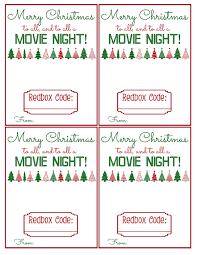 redbox gift printable bits of everything