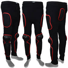 motorbike apparel motocross motorbike body armour trouser black red